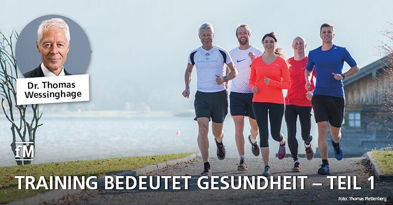Der Orthopäde und Sportmediziner Dr. Thomas Wessinghage über Erfahrungen mit gesundheitspositiven Effekten von Fitnesstraining und Bewegung