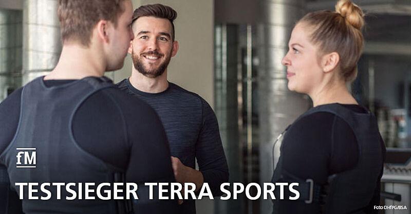 terra sports ist Testsieger bei Stiftung Warentest