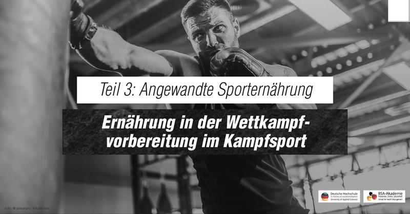 Zwischen Gewichtsabnahme und Leistungsbereitschaft für den Kampf: Ernährung in der Wettkampfvorbereitung im Kampfsport.