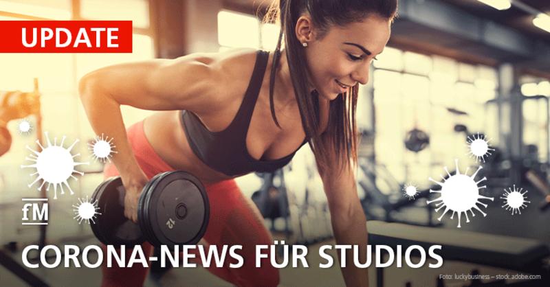 Corona-Update: Fitnessstudios weiter im Shutdown – Corona-Lockdown ohne Ende? Corona-Gipfel entscheidet über 'Notbremse'.
