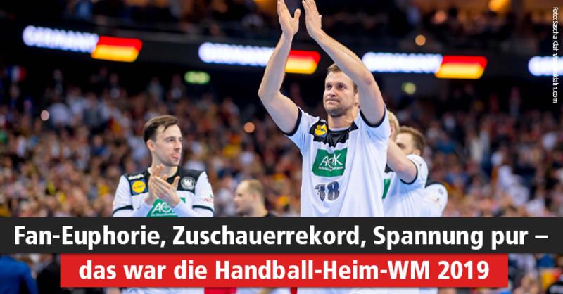 Handball WM 2019