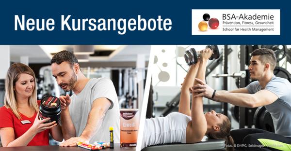 """Lehrgang """"Trainer für Freihantel- und Kettlebelltraining"""" und Praxisworkshop """"Verkauf von Nahrungsergänzungsmitteln"""""""