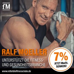Ralf Möller unterstützt die Fitness- und Gesundheitsbranche