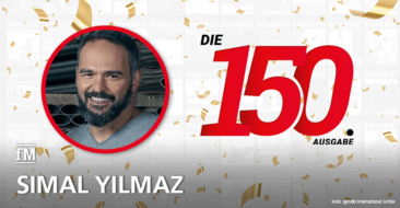 Simal Yilmaz (gym80) gratuliert zur 150. Ausgabe der fitness MANAGEMENT international (fMi)