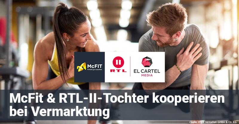 RTL-II-Tochter El Cartel Media und McFIT vermarkten sich gemeinsam crossmedial im Rahmen von 'Berlin – Tag & Nacht'