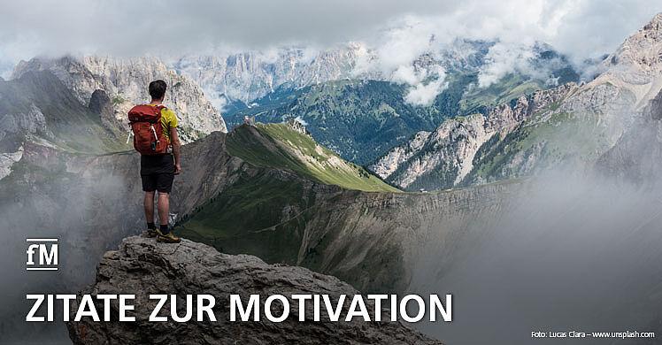 Zitate zur Motivation: Wir nehmen den Hashtag Fitnessmotivation ernst und präsentieren wöchentlich auf Facebook die besten Zitate für Sport und Fitness