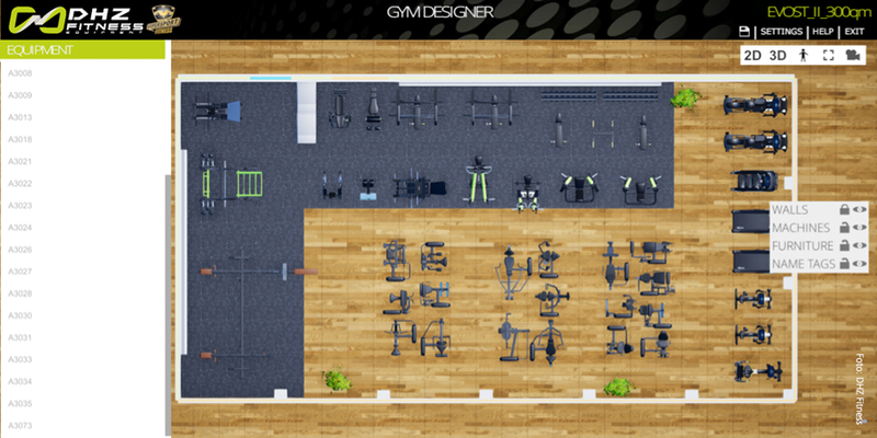 DHZ Gym Designer