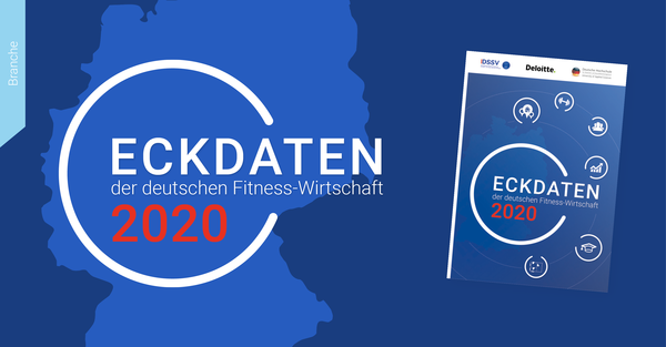 Eckdaten der deutschen Fitness-Wirtschaft 2020: Der Faktor 'Gesundheit' prägt die deutsche Fitnessbranche