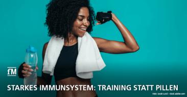 Fitnesstraining als Schutzfaktor wirkt effektiv und stärkt das Immunsystem.