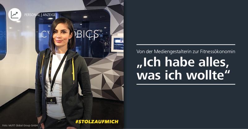 Samantha, ehem. Studentin der DHfPG und Studioleiterin bei McFit Münster
