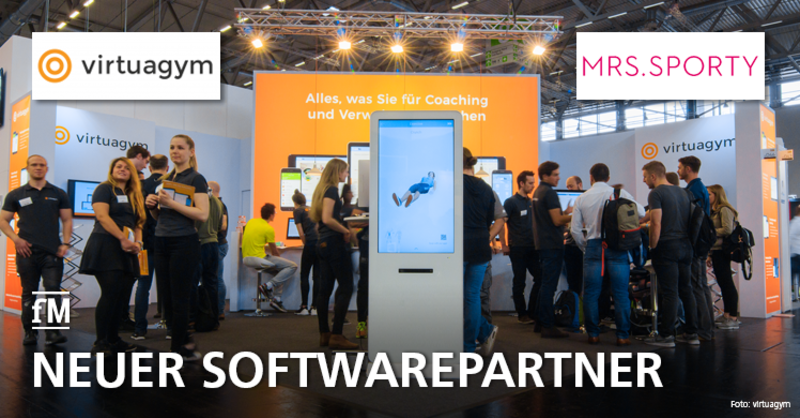 virtuagym ist neuer Softwarepartner von Mrs.Sporty