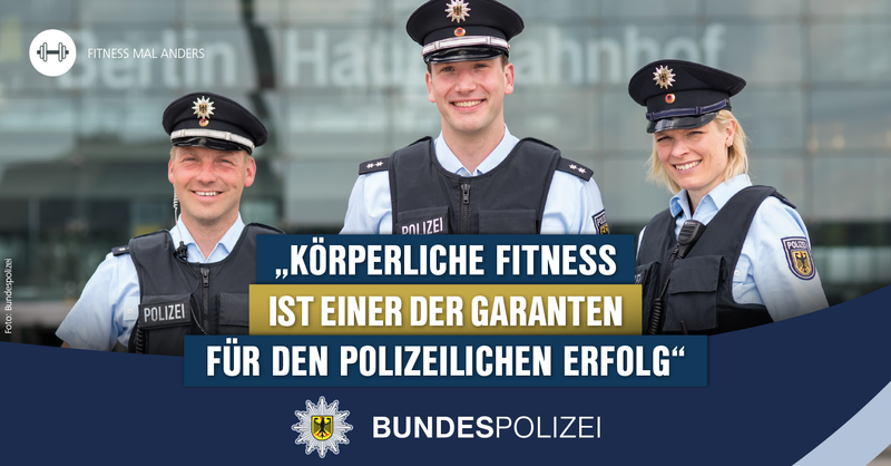 Polizeioberkommissarin und Diplom-Sportwissenschaftlerin Alexandra Natho spricht im fM Interview über Fitness und Athletik bei der Bundespolizei.