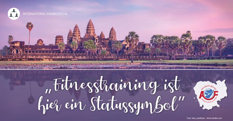 Ankgor Inter Fitness in Siem Reap – 'Fitnesstraining ist hier ein Statussymbol'