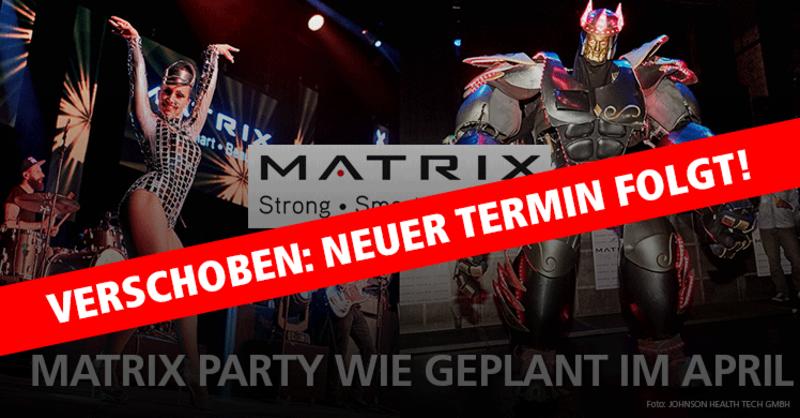 Matrix Party FIBO 2020: Wie geplant im April mit Weltstar Anastacia