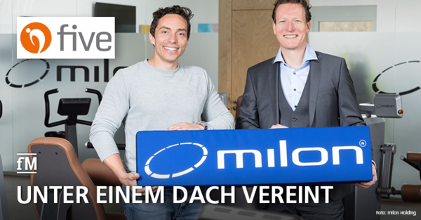 milon übernimmt five: Die beiden neuen gleichberechtigten Geschäftsführer Wolf Harwath (links) und Bernd Reichle.
