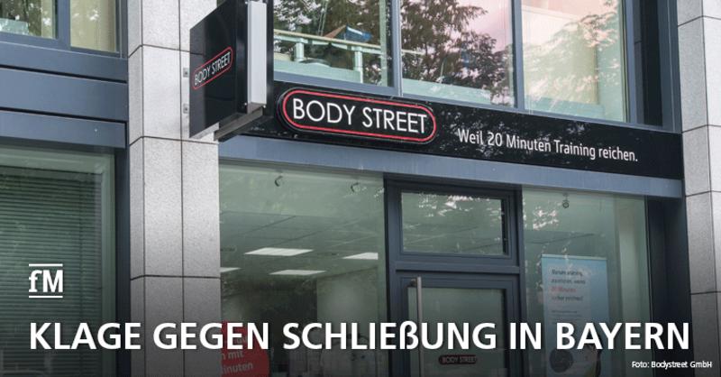 Bodystreet klagt in Bayern gegen Corona-Shutdown