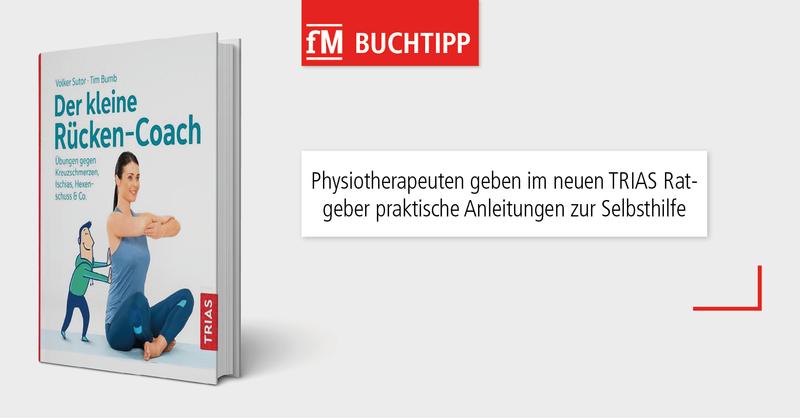 Der kleine Rücken-Coach der Physiotherapeuten Volker Sutor und Tim Bumb erschien als Ratgeber mit Anleitungen zur Selbsthilfe bei Rückenschmerzen im TRIAS Verlag.