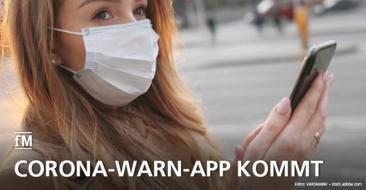 Die neue Corona-Warn-App kommt auf den Markt
