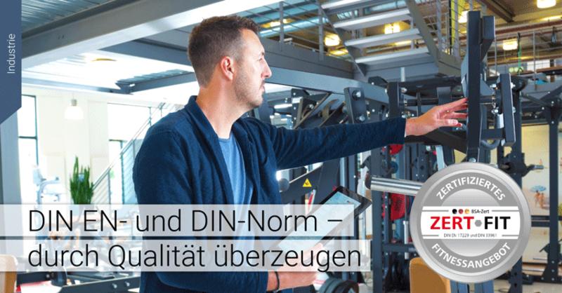 Fitness- und Gesundheitsanlagen zertifizieren: Mit DIN-EN- und DIN-Norm überzeugen