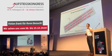 Aufstiegskongress 2019 und Save-the-date 2020
