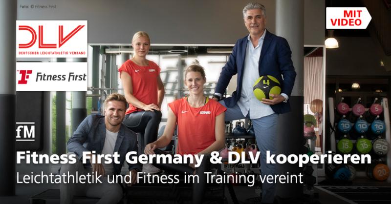 Leichtathletik und Fitness im Training vereint: Deutscher Leichtathletik-Verband und Fitness First Germany vereinbaren Partnerschaft.