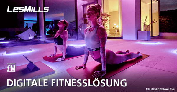 Gruppenfitness in digital: LES MILL präsentiert neues virtuelles Groupfitness-Angebot