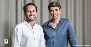 Fusionieren mit OneFit aus den Niederlanden: Die Gründer und CEOs des Urban Sports Club: Moritz Kreppel (links) und Benjamin Roth.