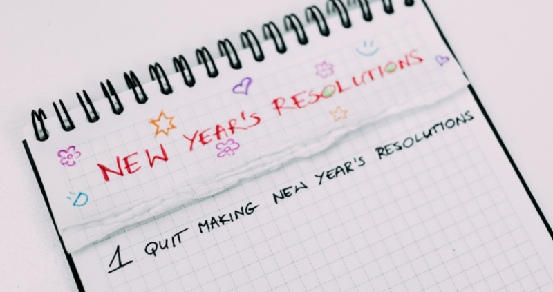 Neujahrsvorsätze: Einhalten oder damit aufhören. Guten Start ins neue Jahr mit oder ohne Vorsätze!