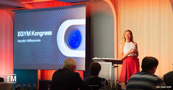 EGYM Kongresses 2021: Durch den Kongresstag in Hamburg führte Christin Görlach