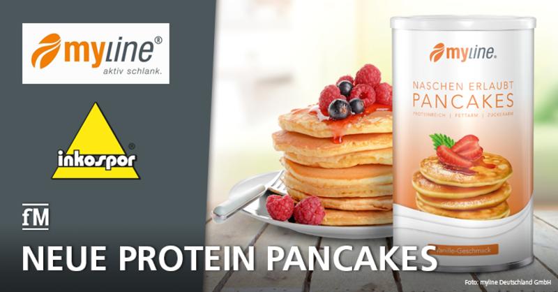 Neues Protein-Produkt: myline und INKO verkaufen proteinreiche Pancakes