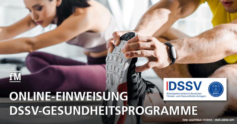 Online-Einweisung in DSSV-Gesundheitsprogramme