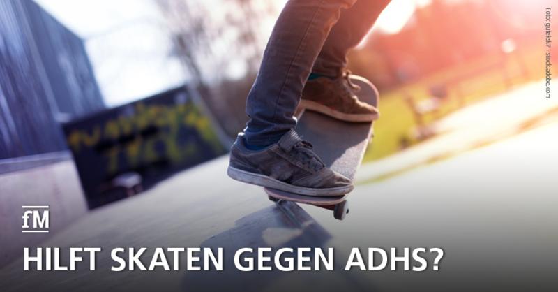 Mit Skateboardfahren gegen das Aufmerksamkeitsdefizitsyndrom (ADHS): In Münster läuft das Projekt 'Skaten statt Ritalin'.