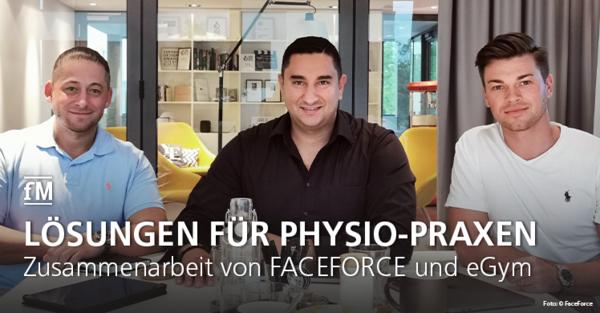 Zusammenarbeit von Faceforce und eGym