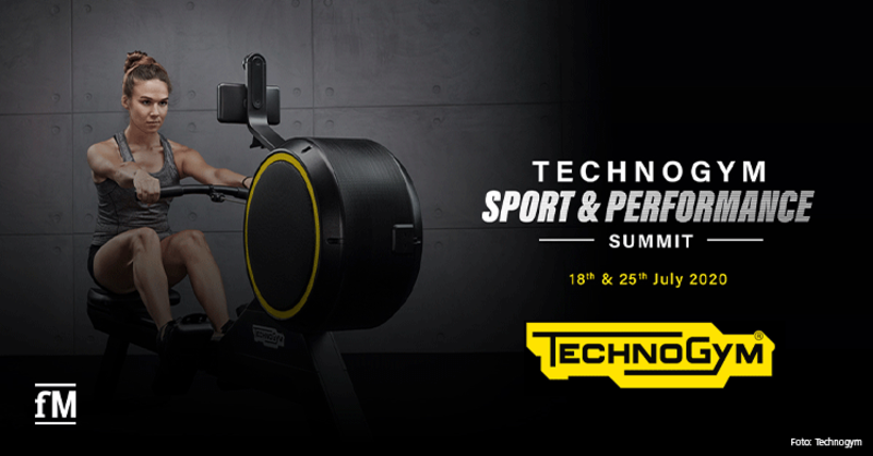 Technogym 'Sport & Performance Summit' am 18. und 25. Juli 2020 als Webinar