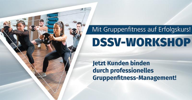 DSSV-Workshop: Mit Gruppenfitness zum Erfolg!