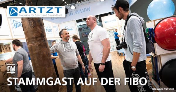 Stammgast auf der FIBO in Köln: die Ludwig Artzt GmbH