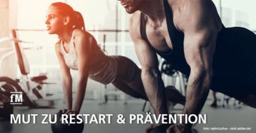 Mediziner bricht Lanze für Fitnessbranche uns appelliert für mehr Prävention