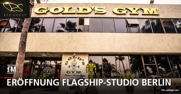 Gold's Gym kommt nach Deutschland: Nach der Übernahme der US-Kultmarke eröffnet die RSG Group um Rainer Schaller ein Flagship-Studio in Berlin-Spandau.