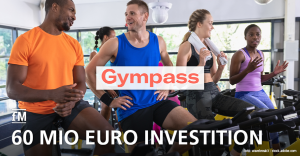 Gympass: 60 Milllionen Euro Investition