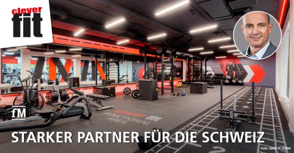clever fit und ein starker Partner für die Schweiz: Beat Bussmann neuer CEO der Clever Sports AG