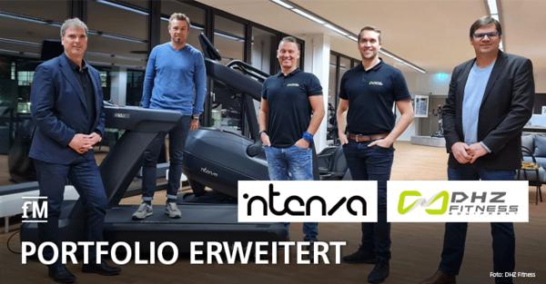 DHZ Fitness übernimmt Vertrieb von INTENZA Cardio
