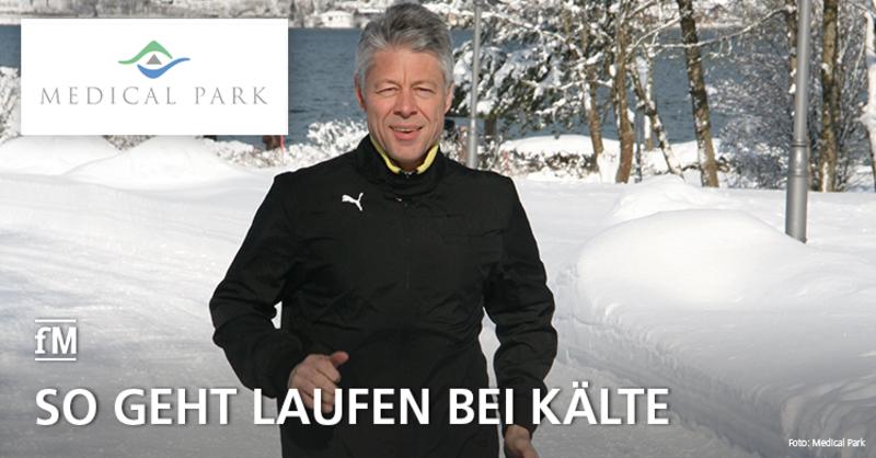 Joggen in den Wintermonaten: Tipps für Joggen in der Kälte von Experte Dr. Thomas Wessinghage.
