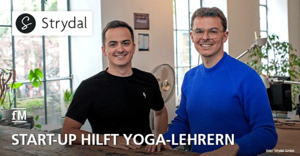 Münchner Start-up Strydal unterstützt Yoga-Lehrer in der Corona-Pandemie