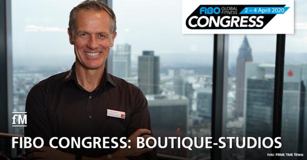 FIBO CONGRESS 2020: Vortrag von Henrik Gockel zum Thema 'Boutique-Studios – Wie sie den Markt verändern und wie man darauf reagieren kann'