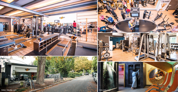 Der juka dojo Fitness Club in Hamburg-Nienstedten
