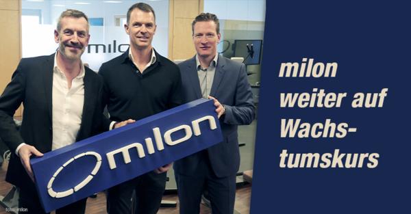Zwölf erfolgreiche Jahre milon industries GmbH