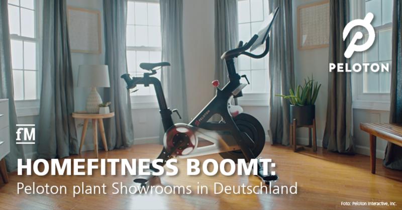 Peloton plant Showrooms in Deutschland und Livekurse auf deutsch.