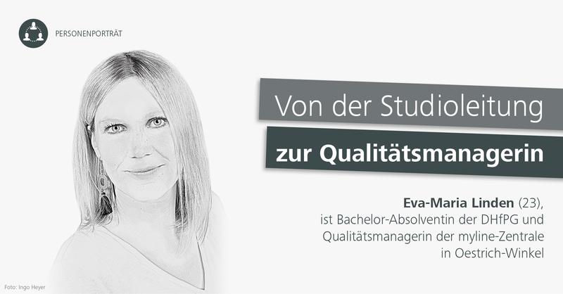 Eva-Maria Linden, Qualitäsmanagerin bei den myline Ernährungsexperten