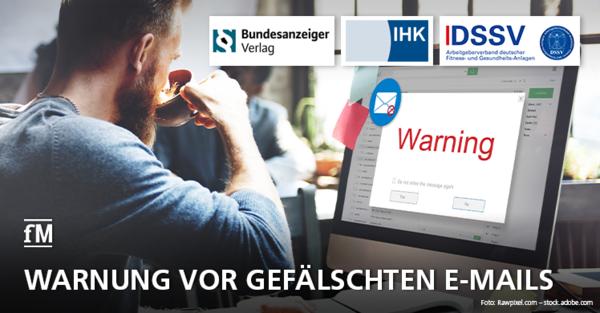 DSSV warnt vor gefälschten E-Mails mit der Aufforderung zur Registrierung im Transparenzregister