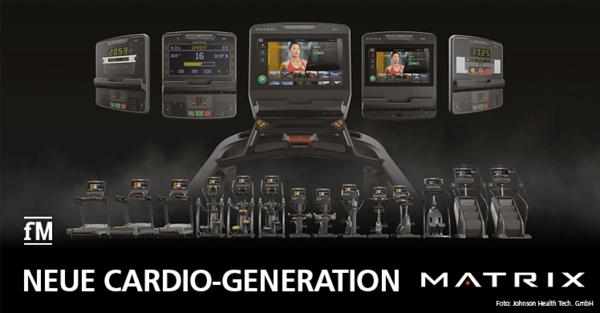 Verkaufsstart für neue Ausdauer-Geräte: Matrix Fitness stellt neue Cardio-Generation vor.